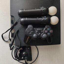Игровые приставки - Sony PlayStation 3 slim 250Gb, 0