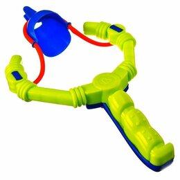 Игрушечное оружие и бластеры - Снежкомет-рогатка, 0