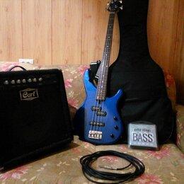 Электрогитары и бас-гитары - Бас-гитара Yamaha TRBX174 + Басовый комбик Cort GE30, 0