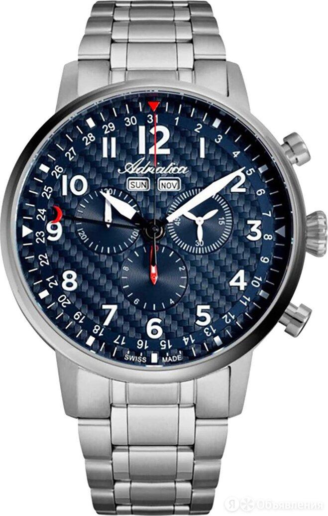 Наручные часы Adriatica A8308.4125CH по цене 55900₽ - Наручные часы, фото 0