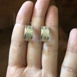 Серьги - Серьги серебро 925 проба , 0