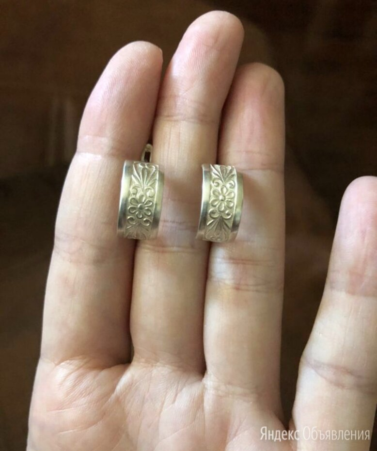Серьги серебро 925 проба  по цене 1100₽ - Серьги, фото 0