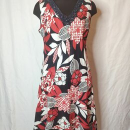 Платья - Платье 100%лен, Англия, размер 52/54, 0