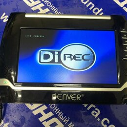 DVD и Blu-ray плееры - Портативный DVD-плеер Denver MT-732B, 0