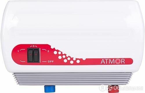 Водонагреватель проточный ATMOR In-Line 7 (7кВт) на две точки водозабора по цене 5339₽ - Водонагреватели, фото 0