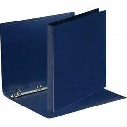 Канцелярские принадлежности - Папка с метал.скоросшив. синяя до 100л, 0
