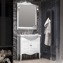 Полки, шкафчики, этажерки - Мебель для ванной Opadiris Брунелла 80, 0