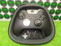 Игровые приставки - Геймпад Xbox Elite (б/у) без гарантии, на запчасти, 0