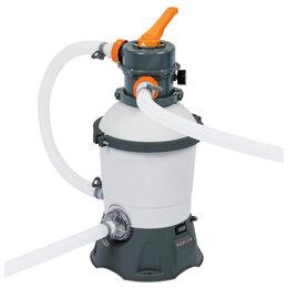 Фильтры, насосы и хлоргенераторы - Фильтр-насос для бассейнов песочный 220-240V, 3028 л/ч, 58515 Bestway, 0