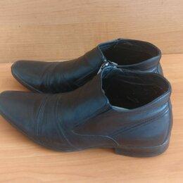 Ботинки - Ботинки Мужские на молнии, 0