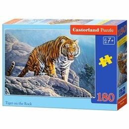 Пазлы - Пазлы  180 элем. Castorland  Тигр на скале., 0