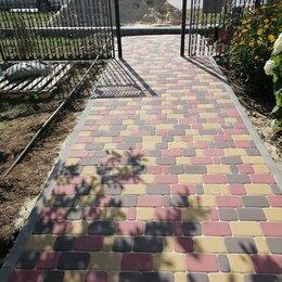 Тротуарная плитка, бордюр - Укладка брусчатки, 0