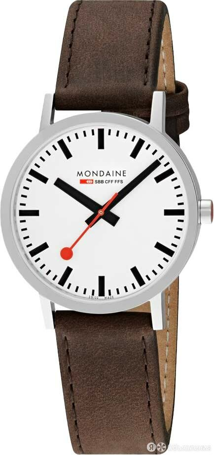 Наручные часы Mondaine A660.30360.11SBG по цене 22800₽ - Наручные часы, фото 0