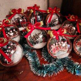 Новогодний декор и аксессуары - Подарочные новогодние шары, фотошар, 0