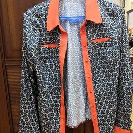 Блузки и кофточки - Сборный лот: две рубашки 46р., 0