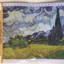 Рукоделие, поделки и сопутствующие товары - Канва для вышивки. Ван Гог. Пшеничное поле с кипарисами. 39 х 49 см, 0