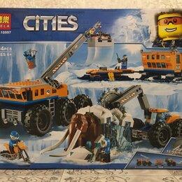 Конструкторы - Конструктор bela (lari) cities 10997 передвижная арктическая станция, 0