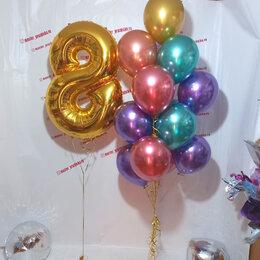 Воздушные шары - Цифры с воздушными шарами, 0