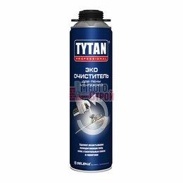 Строительные очистители - Очиститель для монтажной пены 500 мл Tytan Professional ЭКО, 0