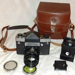 Пленочные фотоаппараты - Киев-  6С в комплекте с Мир- 38Б. 3,5/65, 0