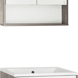 Раковины, пьедесталы - Мебель для ванной Style Line Экзотик 65 Plus подвесная, белая, экзотик, 0