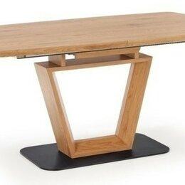 Столы и столики - Стол лофт обеденный дерево Halmar Blacky, 0