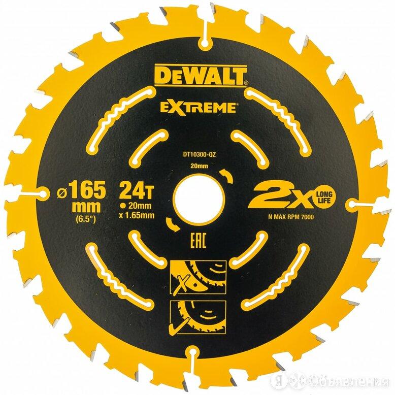 Диск пильный Dewalt DT 10300 по цене 1039₽ - Для шлифовальных машин, фото 0