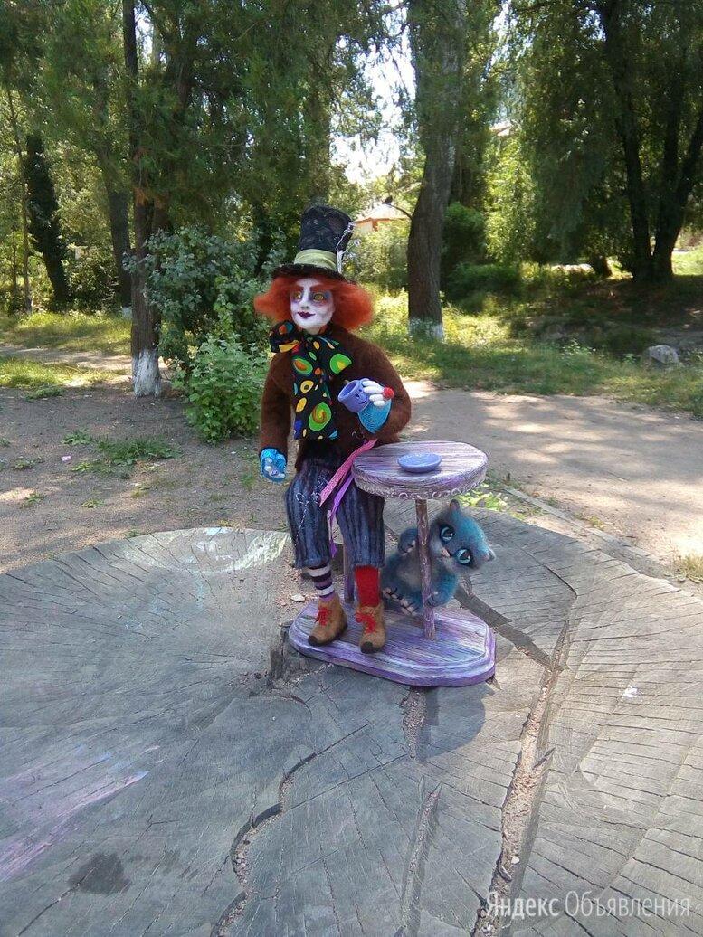 """Кукла """"Безумный шляпник"""" по цене 17000₽ - Статуэтки и фигурки, фото 0"""