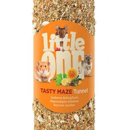 Лакомства  - LITTLE ONE Туннель малый лакомство-игрушка для грызунов 120гр , 0