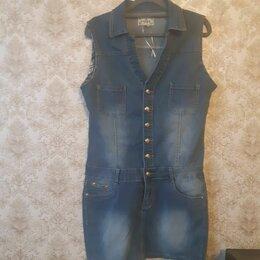 Комбинезоны - продам джинсовый комбинезон , 0