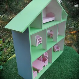 Аксессуары для кукол - Кукольные домики из фанеры , 0