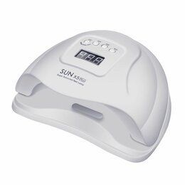 Аппараты для маникюра и педикюра - Лампа для ногтей UV/LED 80W SUN X5 Plus, 0