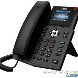 Системные телефоны - Телефон Ip Fanvil X3sg черный, 0