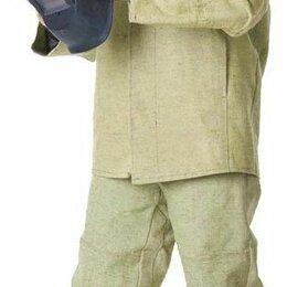 Одежда - Костюм сварщика брезент оп с накладками усиленный (Магазин СтройФормат), 0