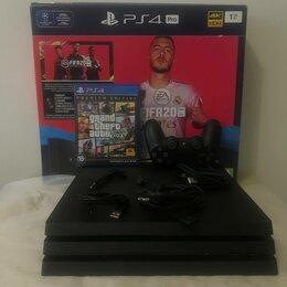 Игровые приставки - Sony PlayStation 4 Pro 1tb, 0