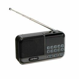 Радиоприемники - Радиоприемник ASPEN, FM+ 87.5-108 МГц, MP3, USB, microSD, Li-ion 1200 мАч., 0