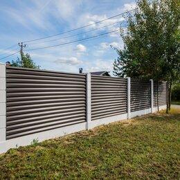 Заборы, ворота и элементы - Забор жалюзи, 0