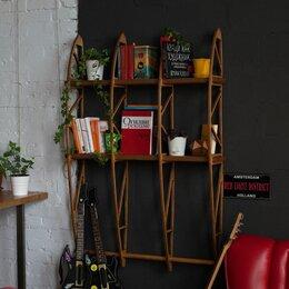 Стеллажи и этажерки - Книжные стеллажи геометрической формы в стиле лофт, 0