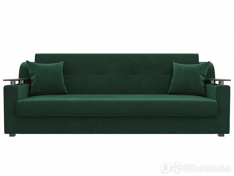 Прямой диван книжка Сенатор Велюр Зеленый по цене 18090₽ - Диваны и кушетки, фото 0