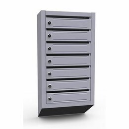 Почтовые ящики - Почтовый ящик для многоквартирного дома 7 секций , 0
