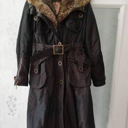 Пальто - Пальто зимнее, с меховой подстежкой, 0