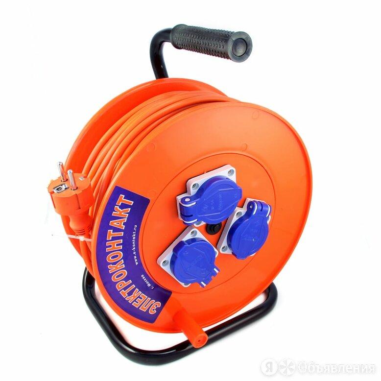 Силовой удлинитель на катушке Электроконтакт УХз16-003 по цене 2989₽ - Электроустановочные изделия, фото 0
