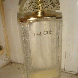 Этикетки, бутылки и пробки - Флакон для духов Lalique Лалик винтаж 90х годов, 0