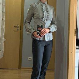Блузки и кофточки - Черно-белая рубашка Benetton, 0