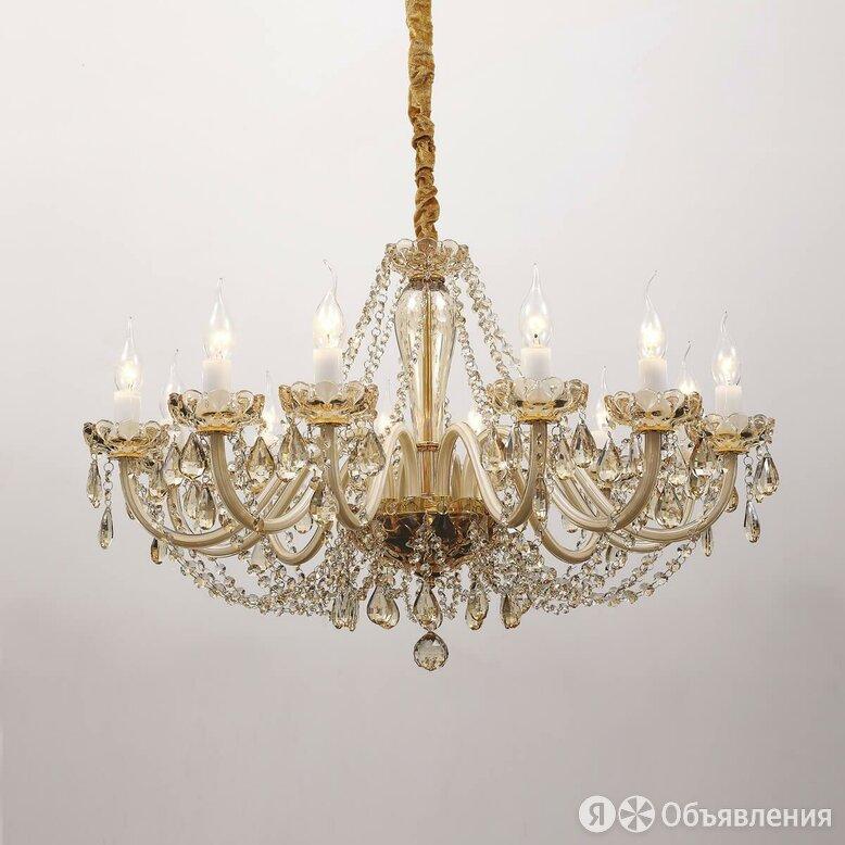 Подвесная люстра Favourite Brendy 1738-12P по цене 43010₽ - Люстры и потолочные светильники, фото 0