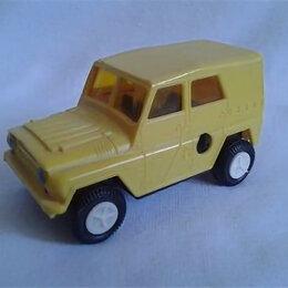Модели - УАЗ 469 ЖЕЛТЫЙ ПЛАСТИК СССР, 0