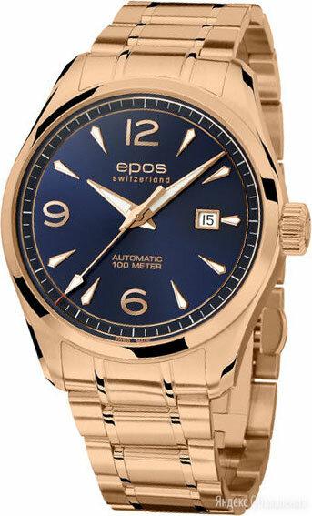 Наручные часы Epos 3401.132.24.56.34 по цене 115900₽ - Наручные часы, фото 0