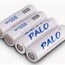 Батарейки - Аккумулятор 14500, 3.7в, 900mAh, PALO, оригинал, 1шт, 0