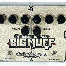 Процессоры и педали эффектов - Electro-Harmonix (EHX) Germanium Big Muff Pi гитарный эффект USED, 0