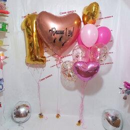 Воздушные шары - Шары на годик для девочки, 0